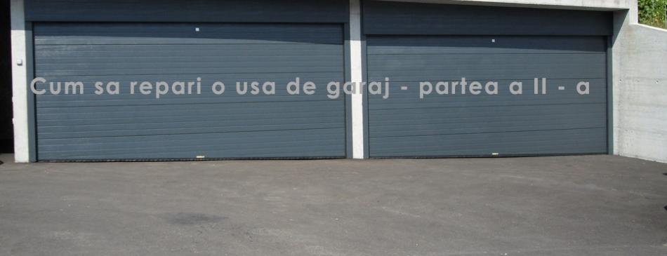 cum repari o usa de garaj
