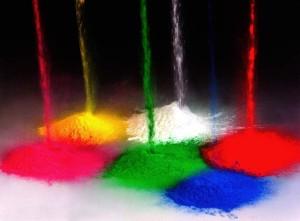 vopsea pulbere culori
