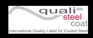 QUALISTEELCOAT este o marcă internațională de calitate pentru acoperirea oțelului cu vopsea organică. Fiind materialul de construcție cel mai frecvent utilizat în domeniul arhitectural și industrial, oțelul trebuie protejat împotriva coroziunii. Dacă protecția la coroziune este realizată cu un start de vopseluri organice, atunci aceasta intră în domeniul de aplicare al produsului QUALISTEELCOAT.